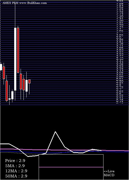 Polymet Mining monthly charts