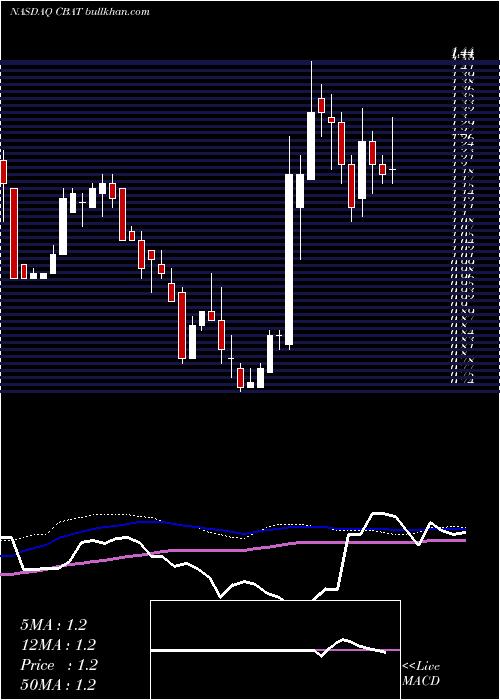 Cbak Energy weekly charts