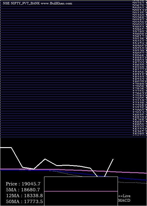 Nifty Pvt monthly charts
