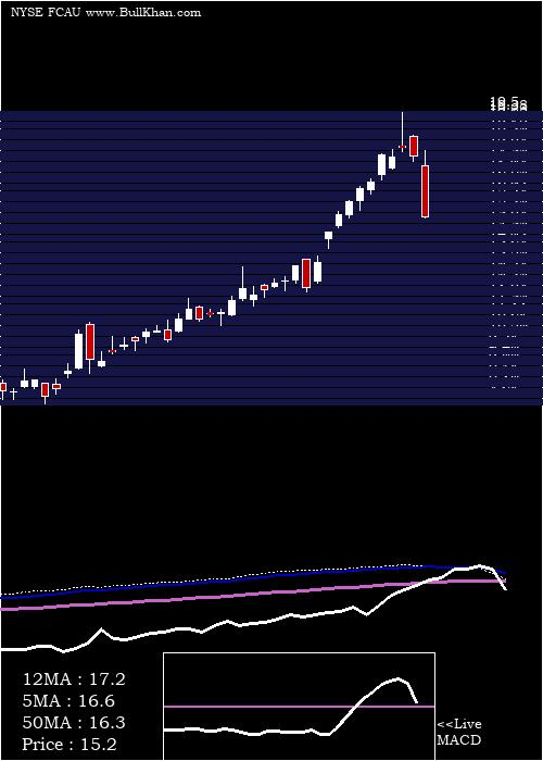 Fiat Chrysler weekly charts